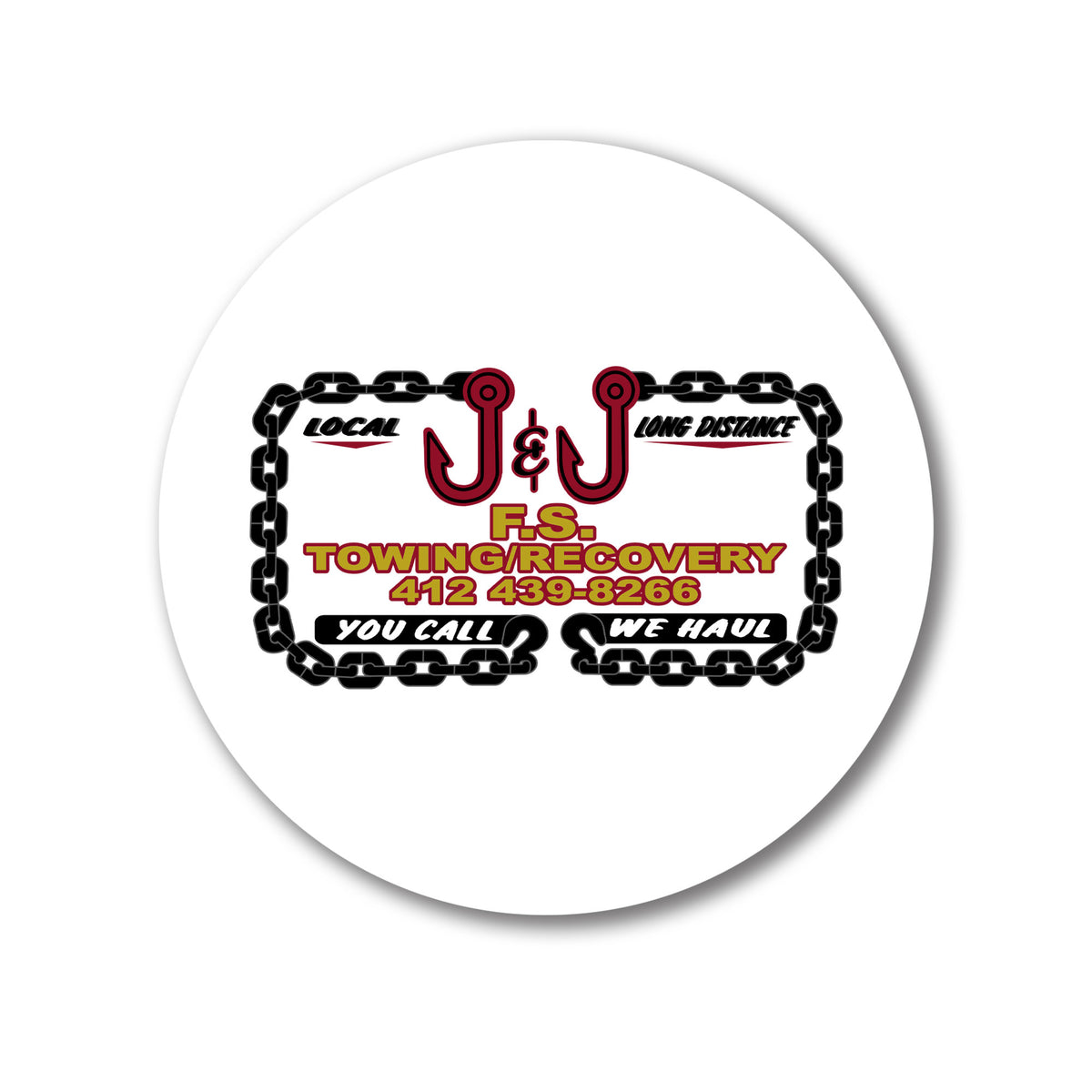J&J Towing We Support PA Coasters