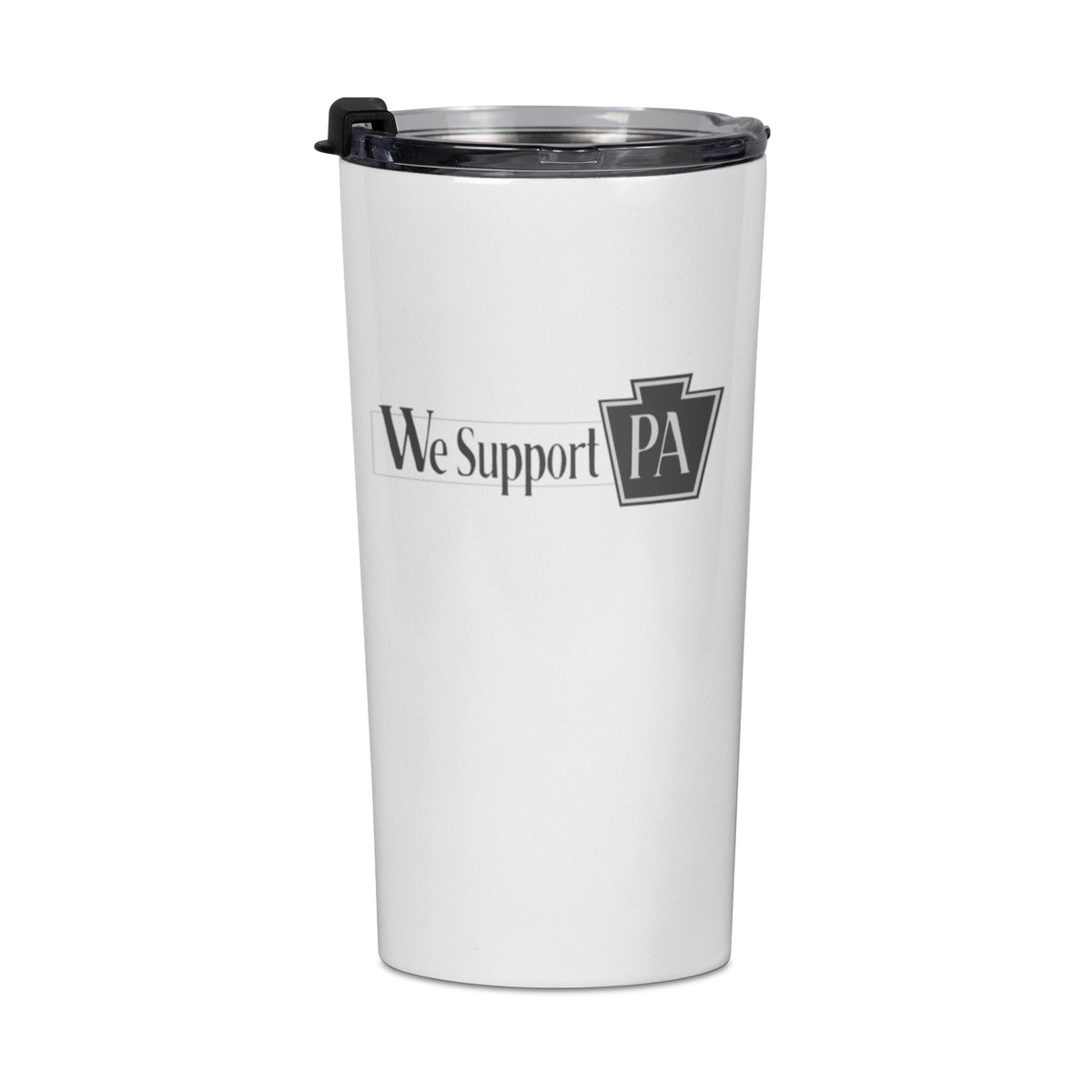 Meister Cox We Support PA Travel Mug