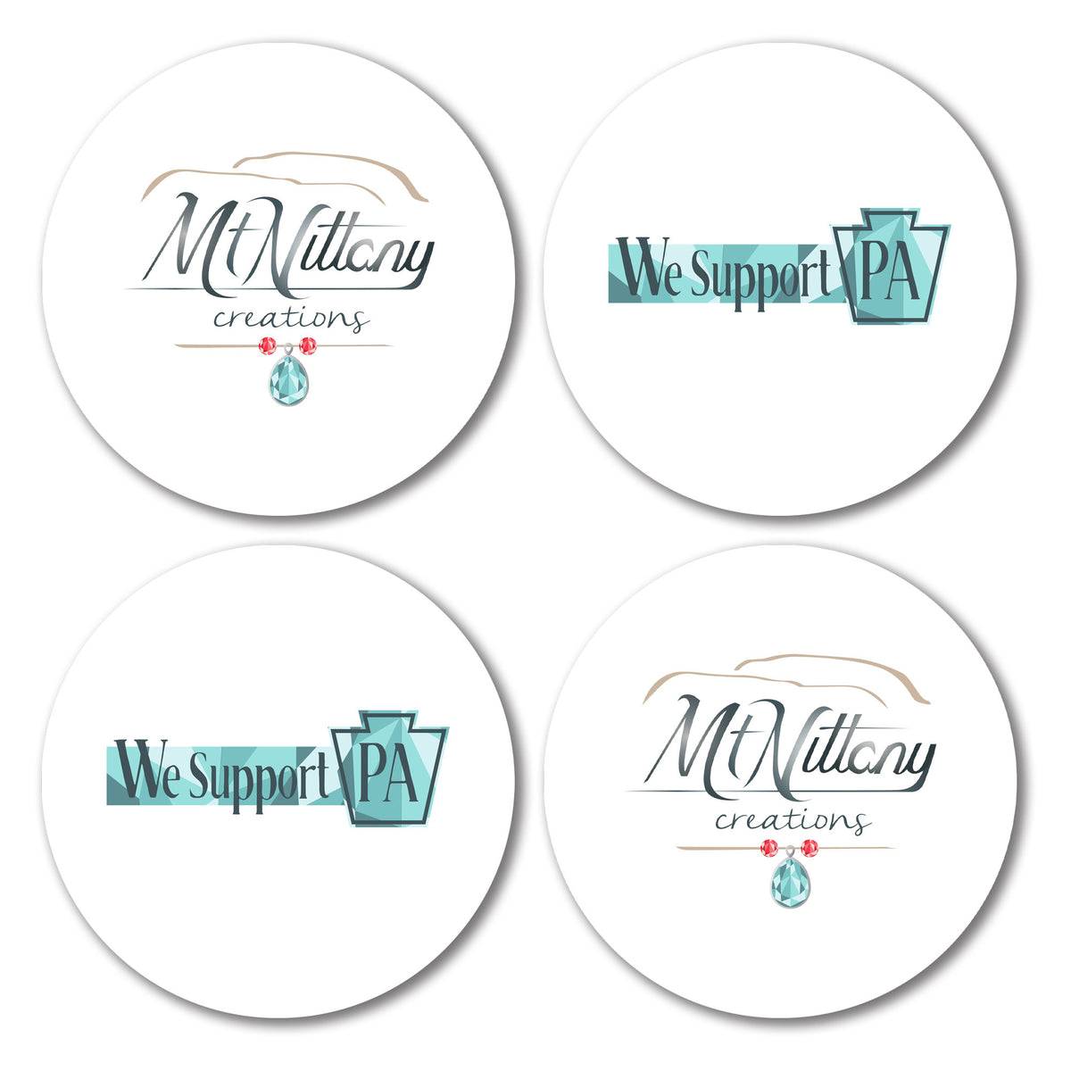 Mt Nittany Creations We Support PA Coasters