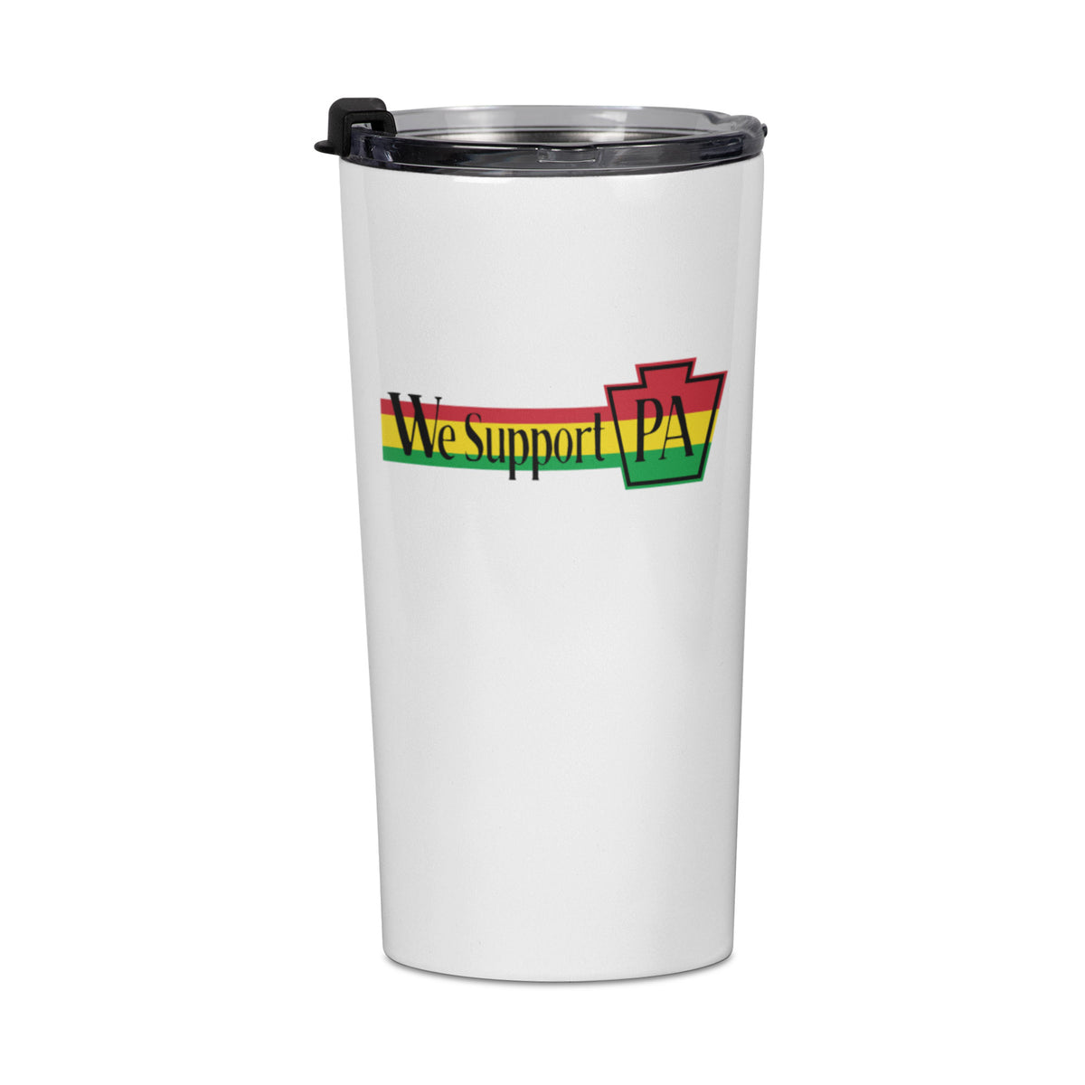 One Love Life We Support PA Travel Mug