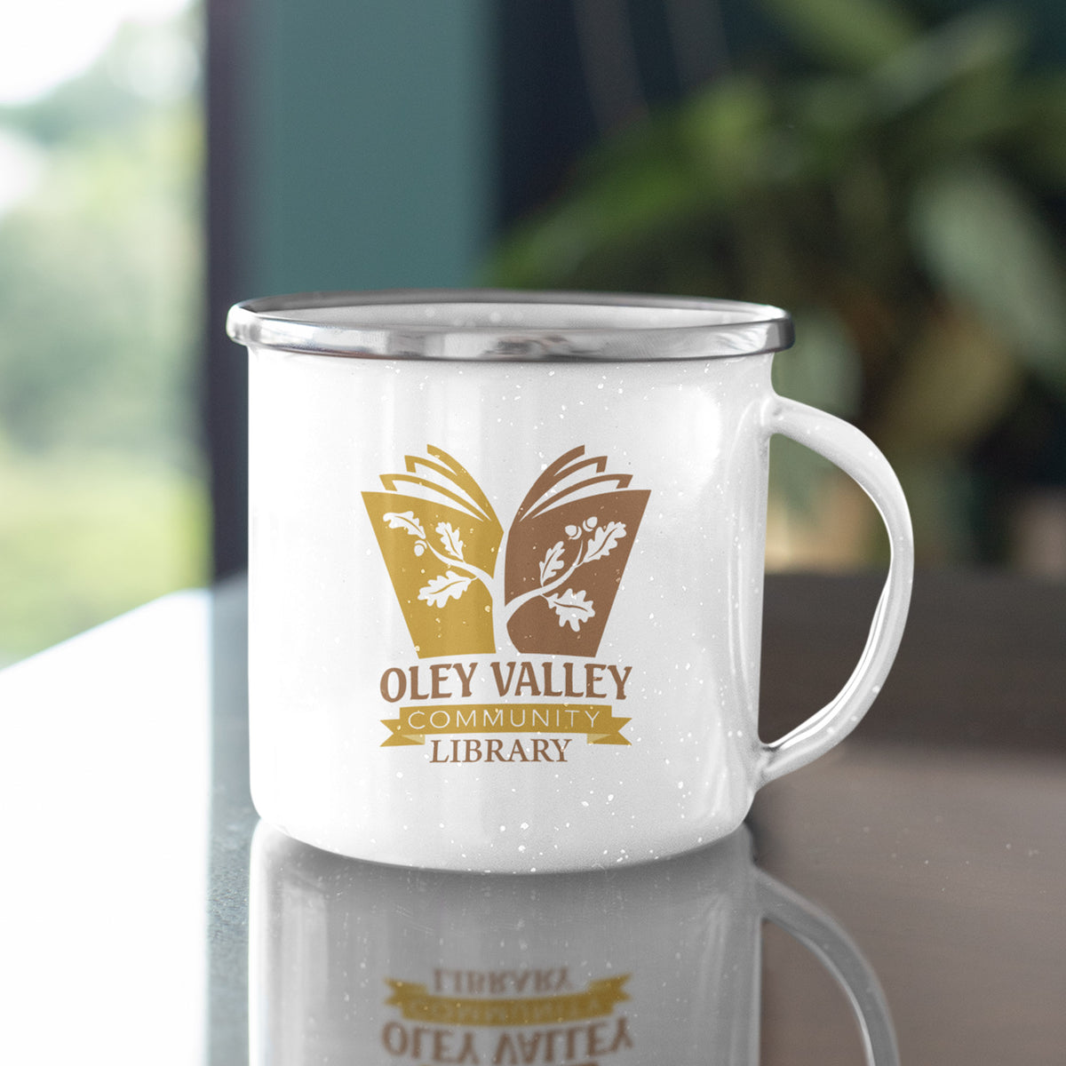 Oley Valley Community Library We Support PA Camp Mug
