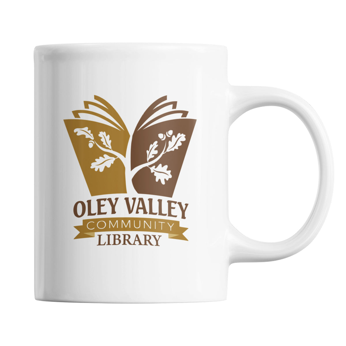 Oley Valley Community Library We Support PA Coffee Mug