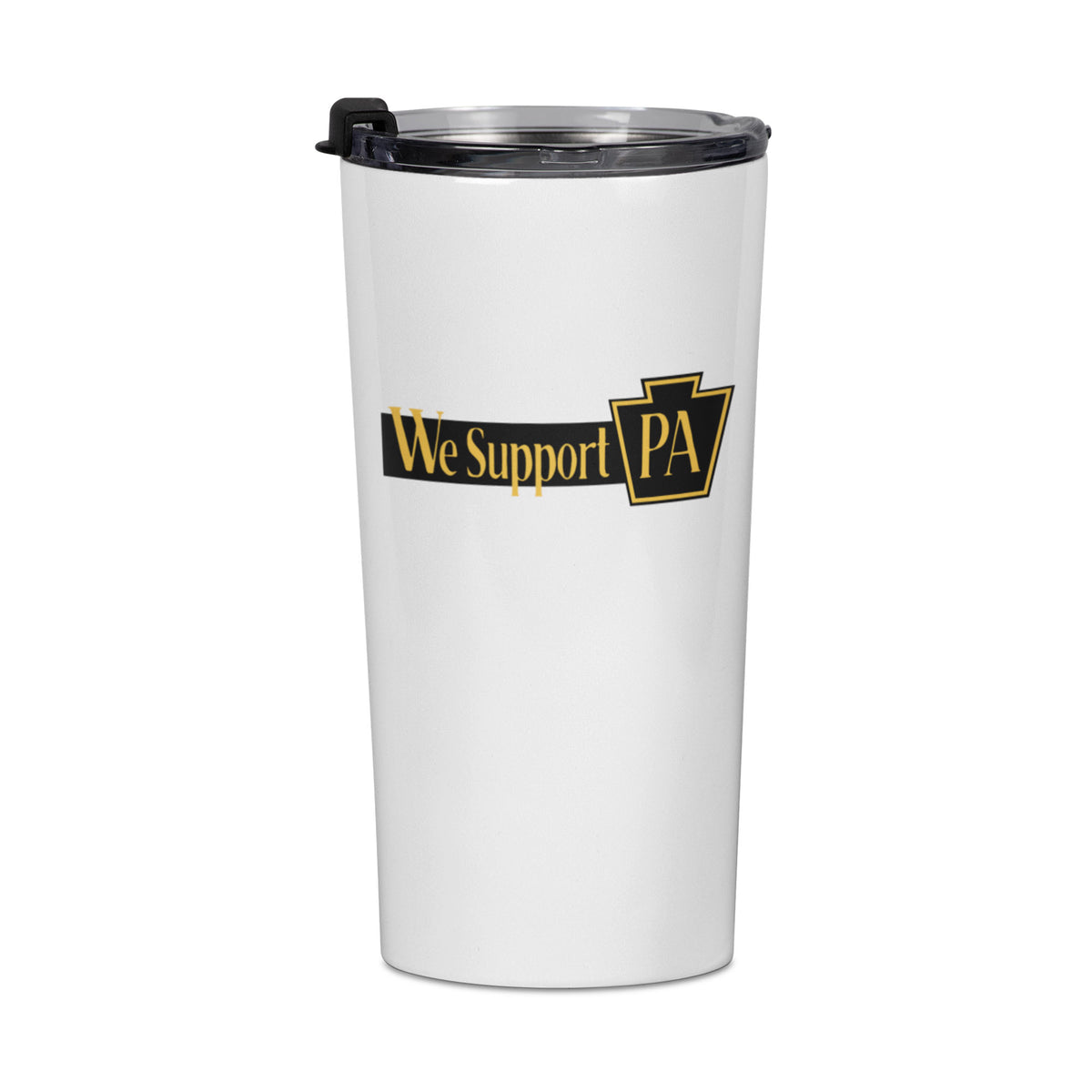 Penn Brewery We Support PA Travel Mug