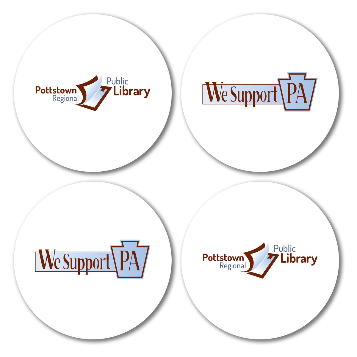 Pottstown Area Library We Support PA Coasters