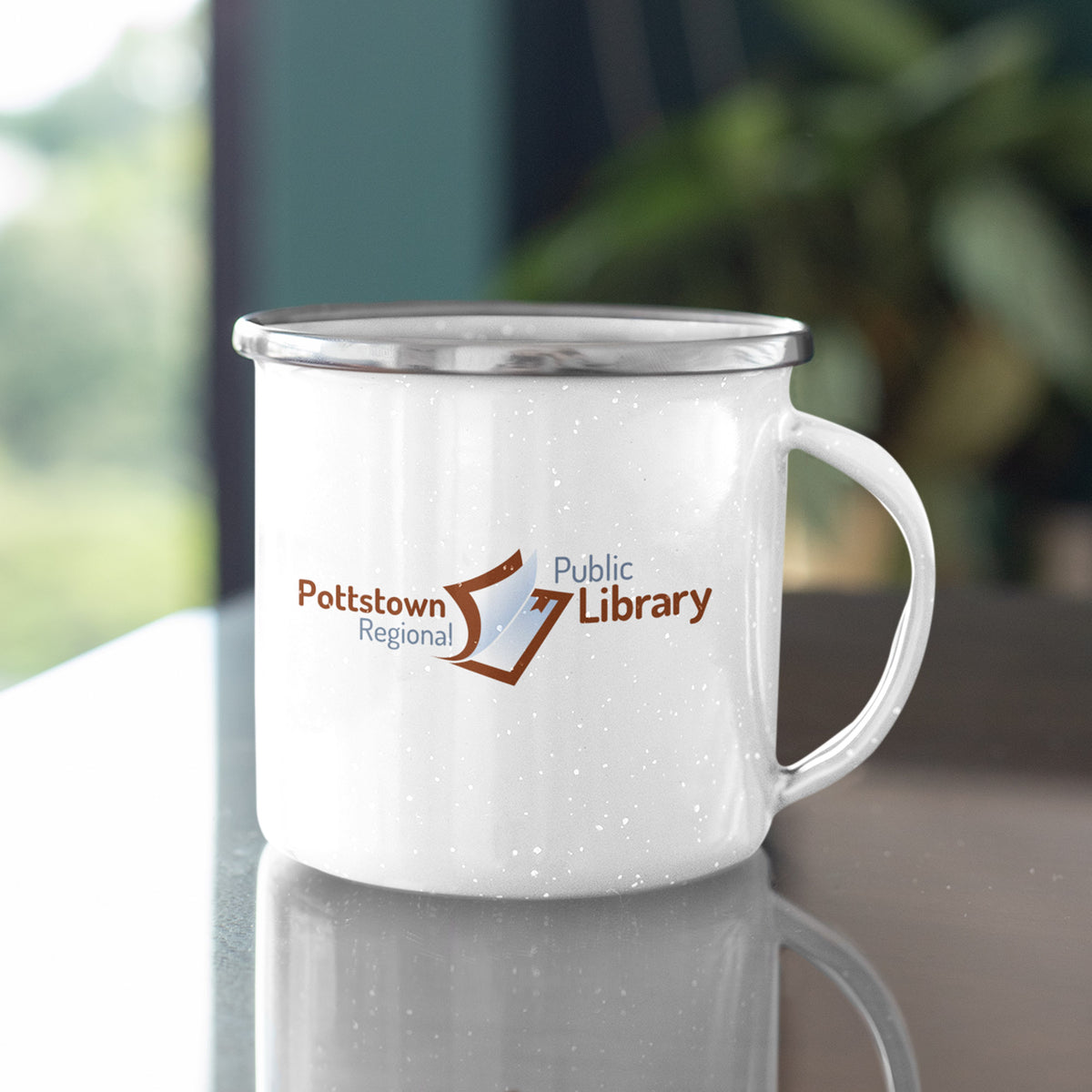Pottstown Area Library We Support PA Camp Mug