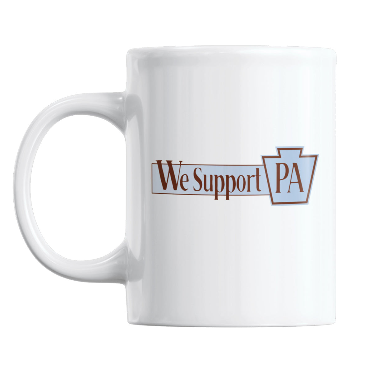Pottstown Area Library We Support PA Coffee Mug