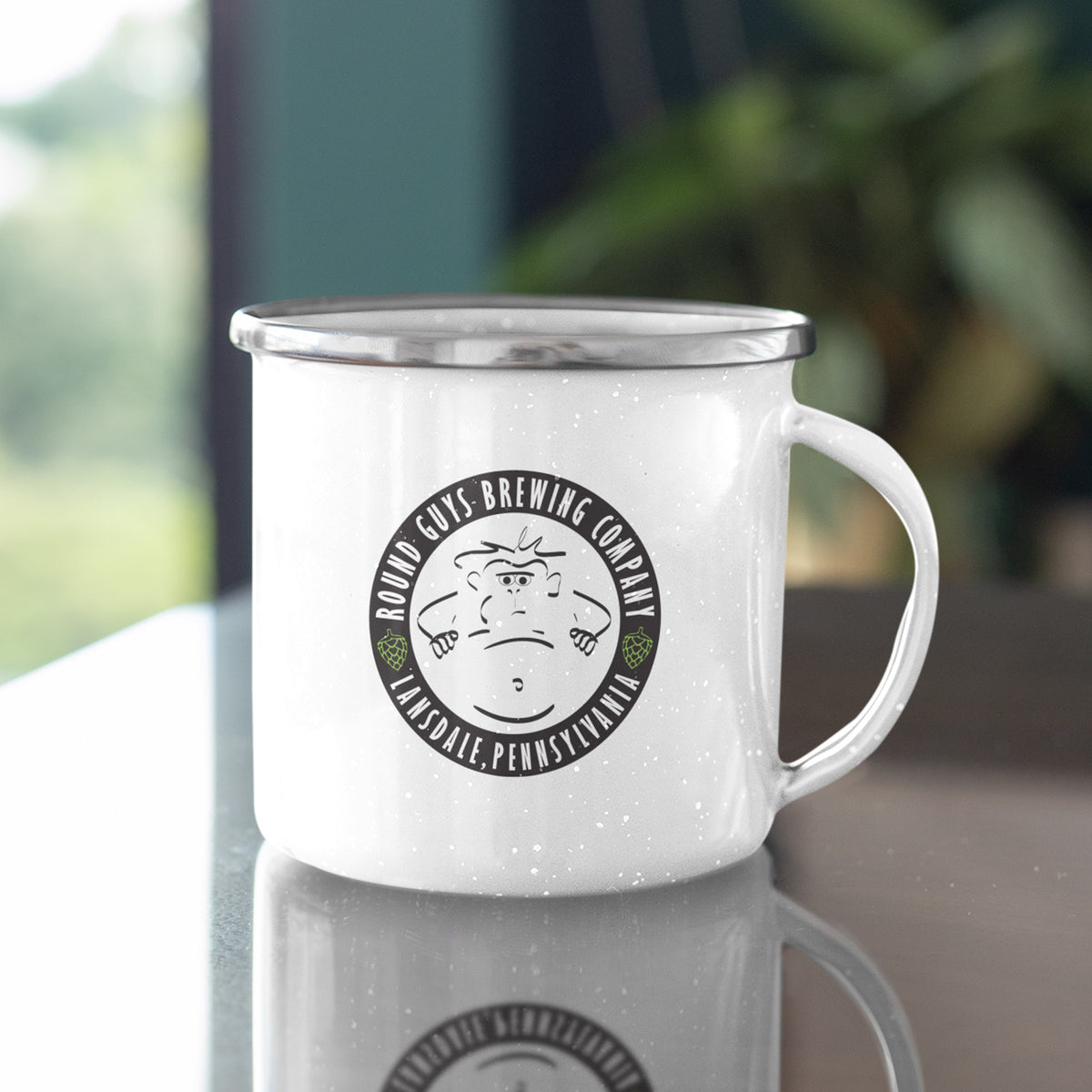 Round Guys Brewing We Support PA Camp Mug