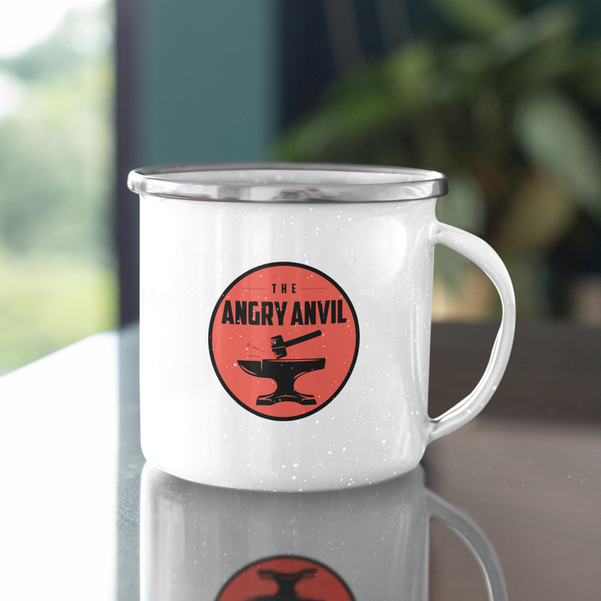 Angry Anvil We Support PA Camp Mug