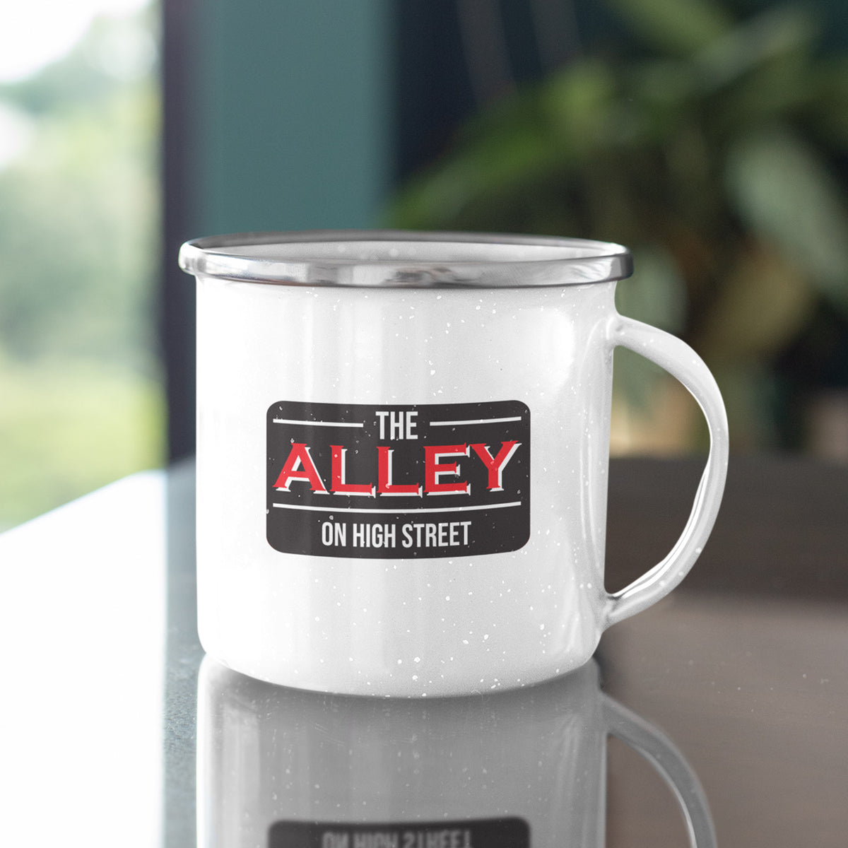 The Alley on High Street We Support PA Camp Mug