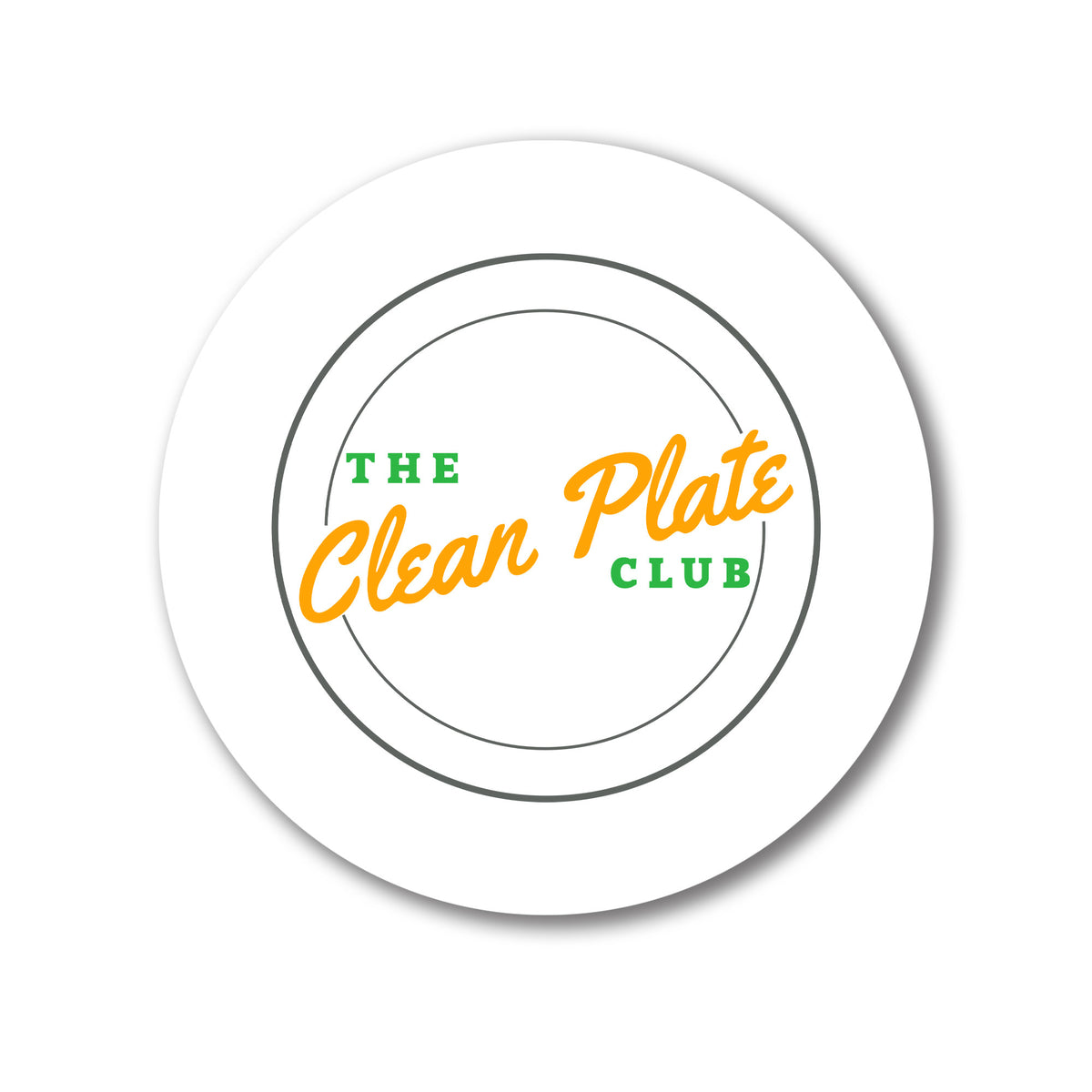 Clean Plate Club We Support PA Coasters