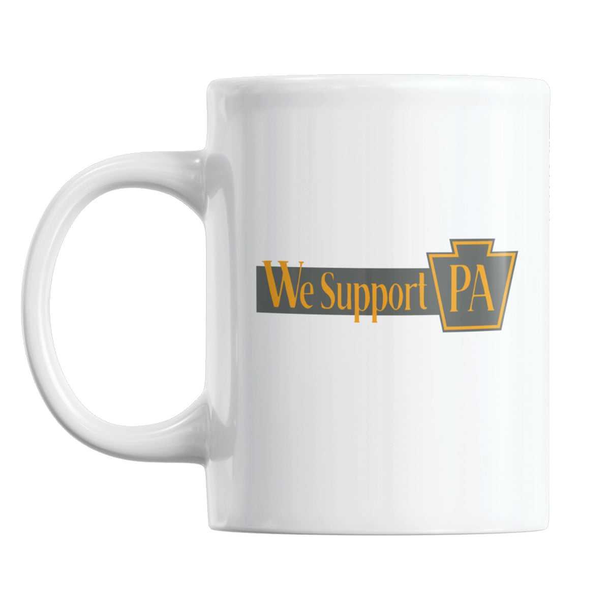 Clean Plate Club We Support PA Coffee Mug