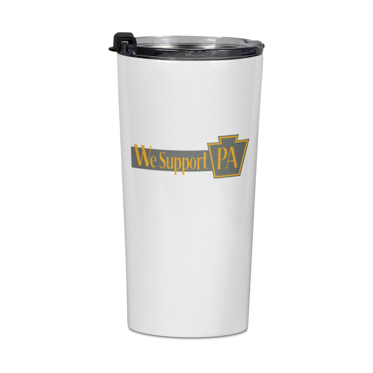 Clean Plate Club We Support PA Travel Mug