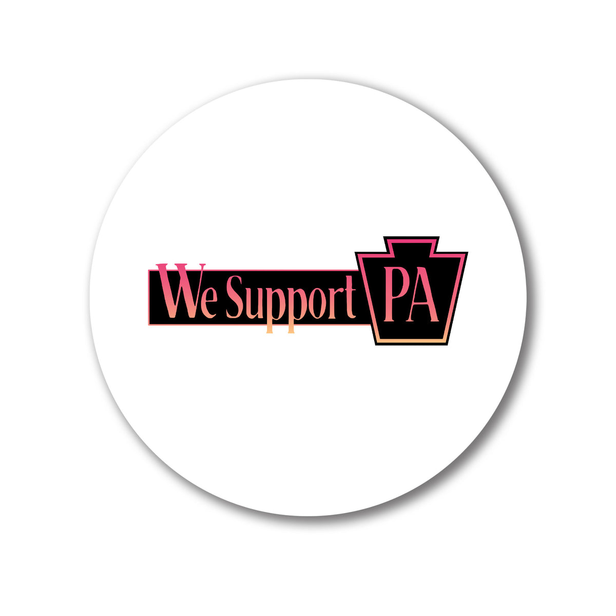 VI Design Lab We Support PA Coasters