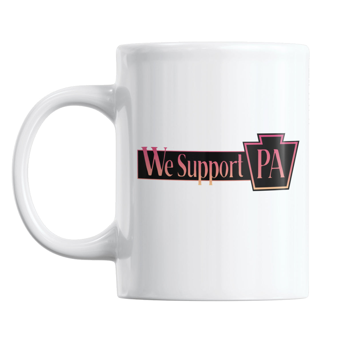 VI Design Lab We Support PA Coffee Mug