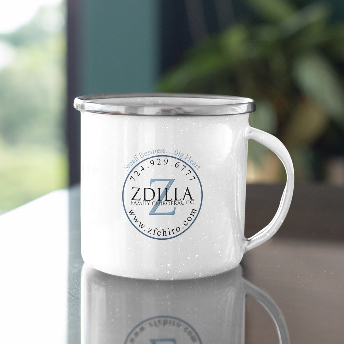Zdilla Family Chiropractic We Support PA Camping Mug