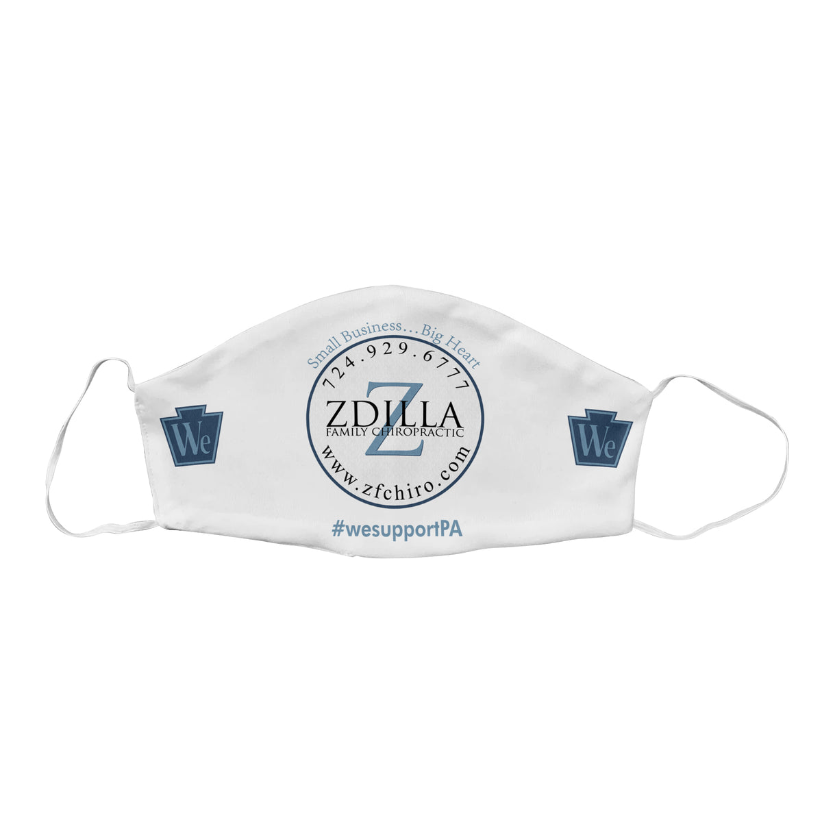 Zdilla Family Chiropractic We Support PA Face Mask