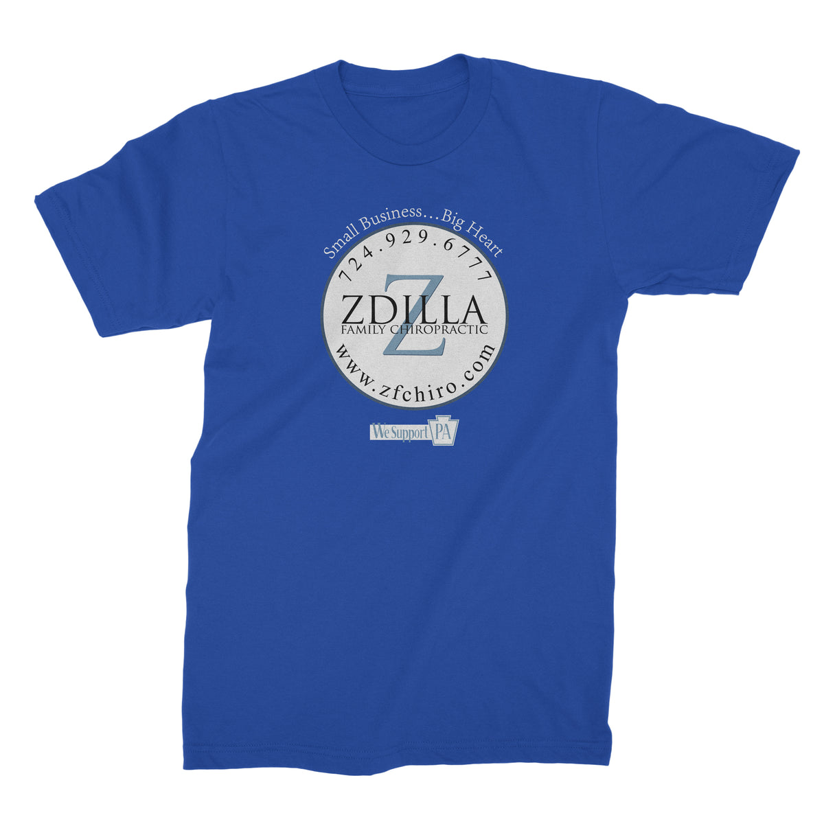 Zdilla Family Chiropractic We Support PA T-Shirt