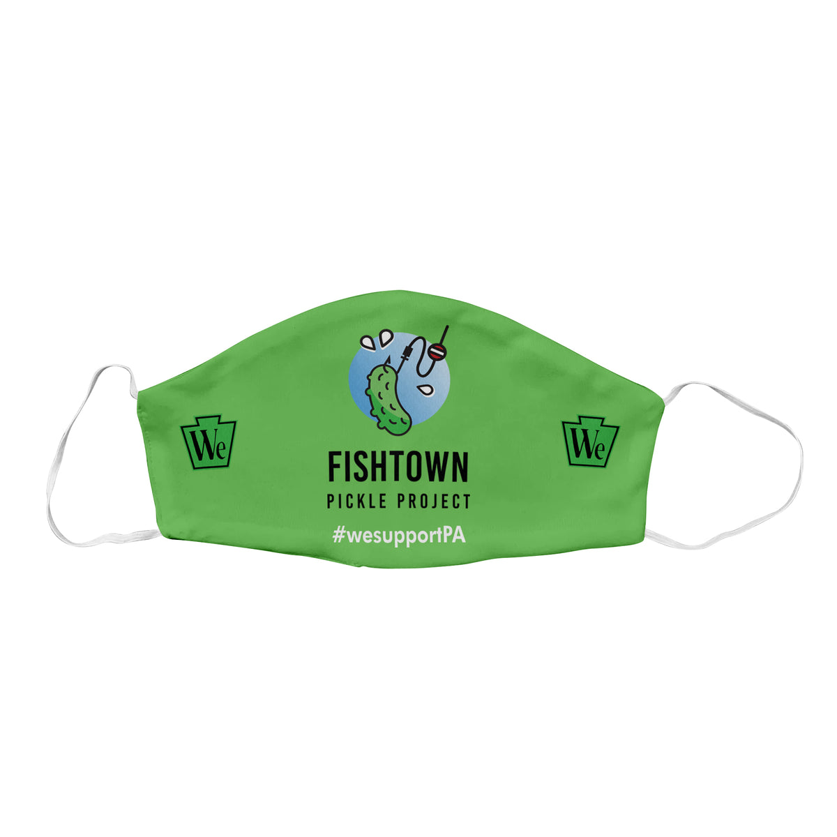 Fishtown Pickle Project We Support PA Face Mask