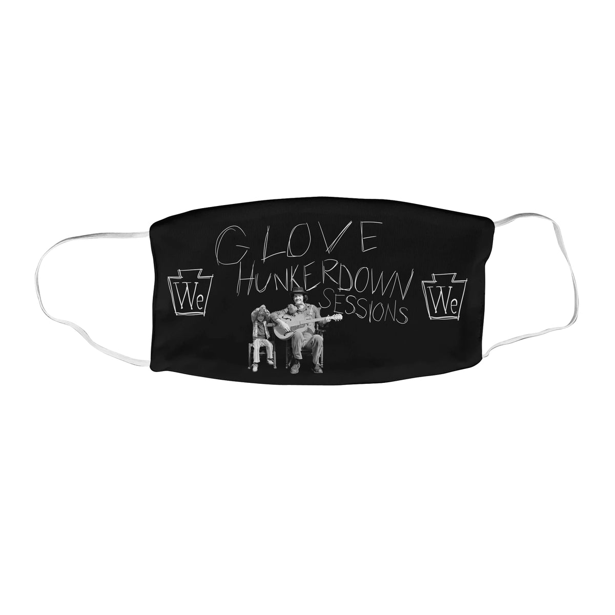 G. Love Hunkerdown Sessions We Support PA Face Mask