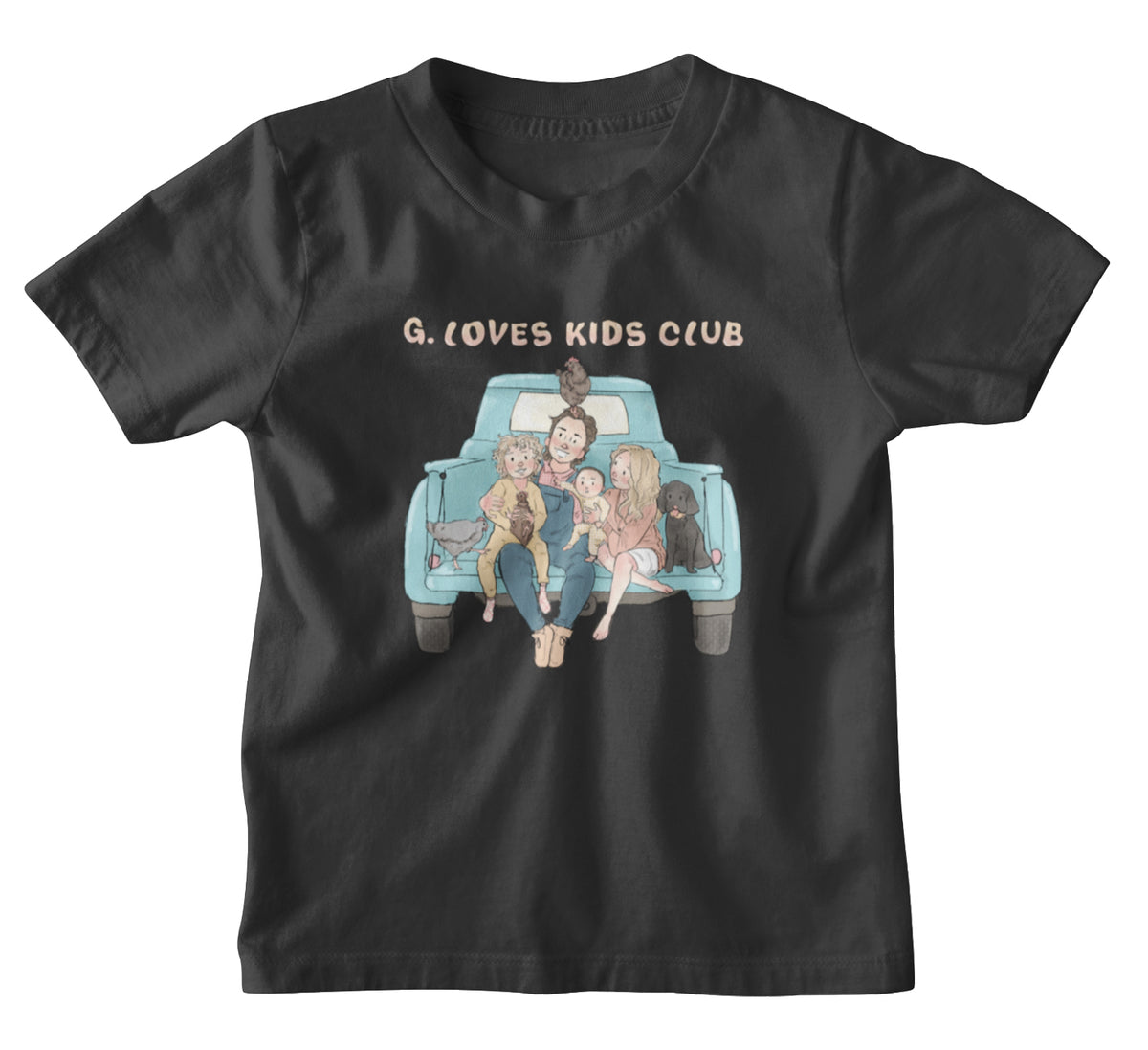 G. Love Kids Club We Support PA Kids T-Shirt