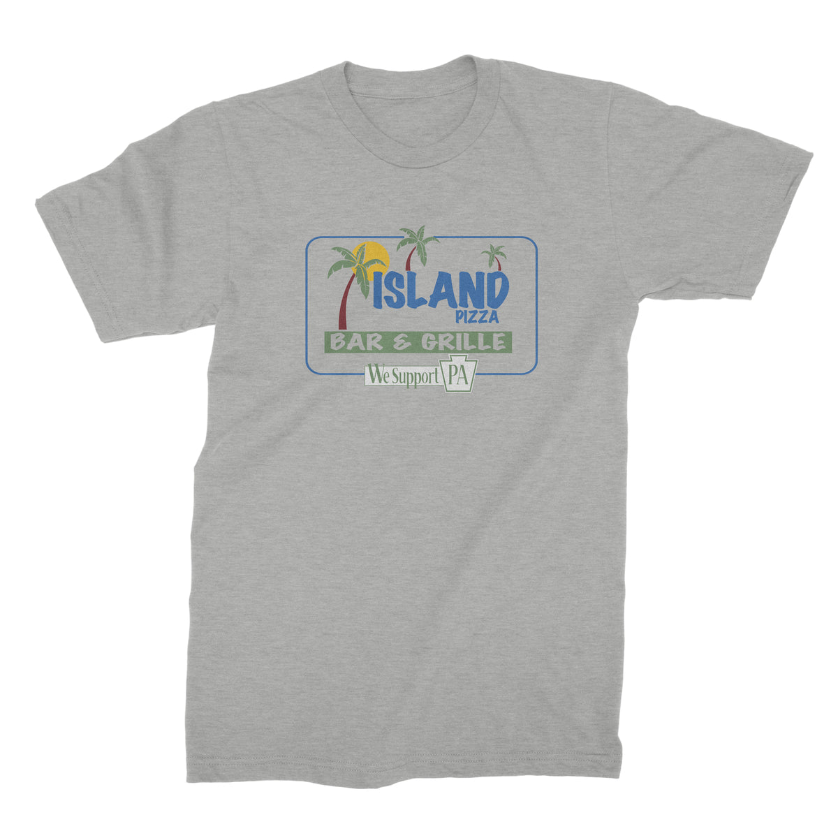 Island Pizza We Support PA T-Shirt