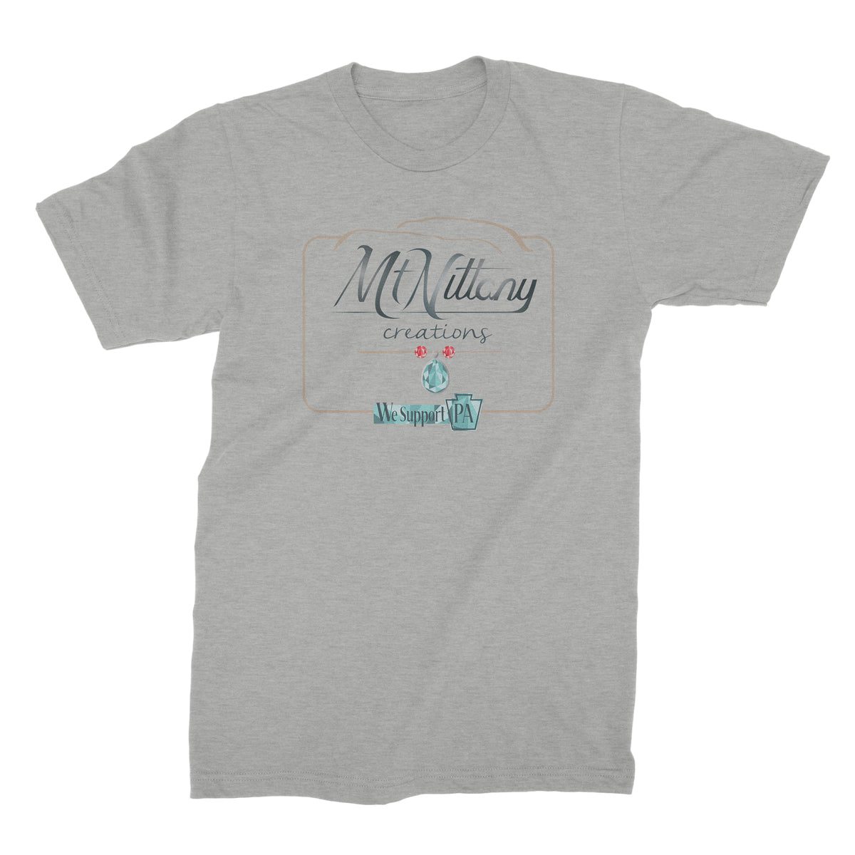 Mt Nittany Creations We Support PA T-Shirt