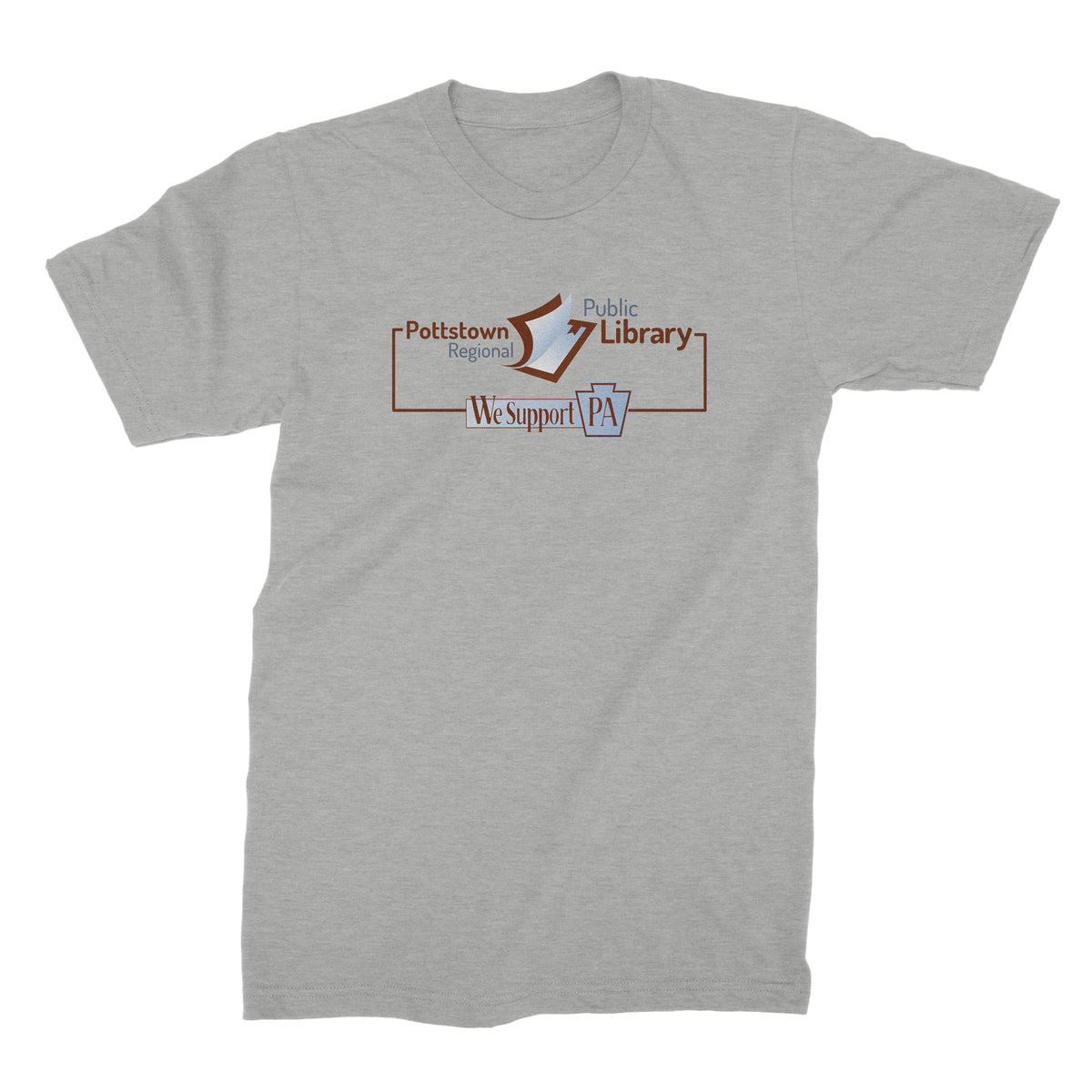 Pottstown Area Library We Support PA T-Shirt