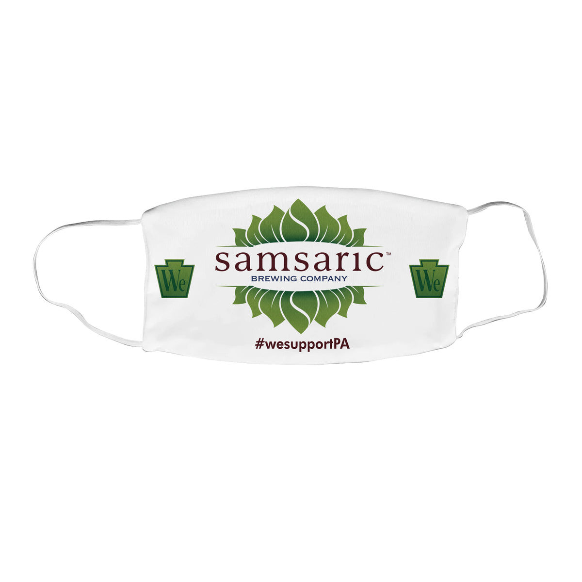 Samsaric Brewing Company We Support PA Face Mask