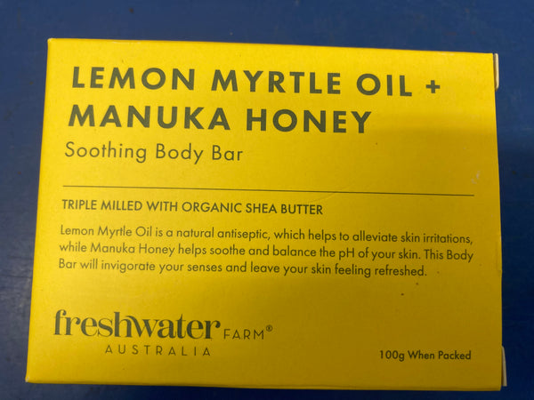 Lemon Myrtle & Manuka Honey Soap 100g