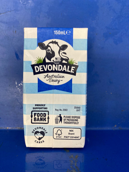 DEVONDALE Full Cream UHT Milk 150ml
