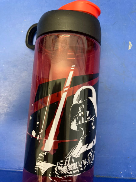 DISNEY Drink Bottle Themed Star Wars Red & Black