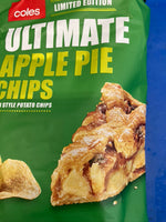 COLES Ultimate Apple Pie Chips 200g