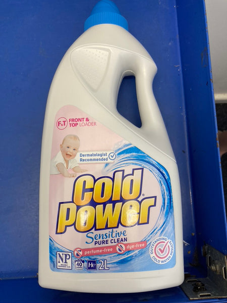 Cold Power Liquid Top Front Loader 2L Limit 1