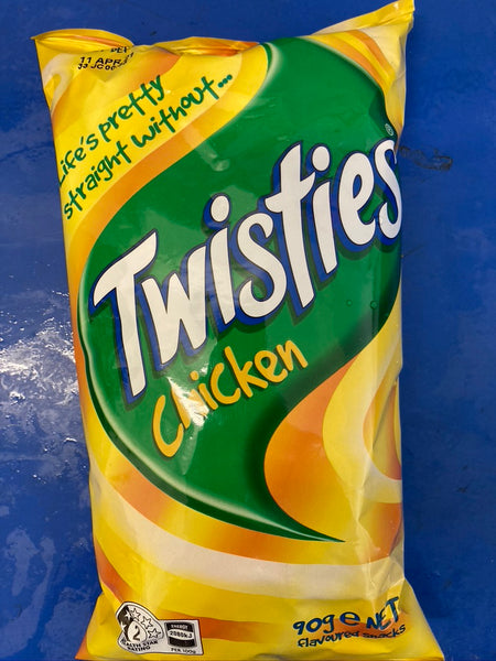 Twisties Chicken Flavour 90g