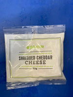 # HELLO FRESH Shredded Cheddar Cheese 50g