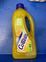 COTTEES Orange and Mango Cordial 1L