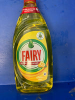 FAIRY Ultra Concentrate Lemon Dishwashing Liquid 495ml