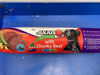 # JULIUS Chunky Beef Rolls Adult Dog 3kg