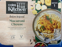# Coles Macaroni Cheese 350g Serves 1