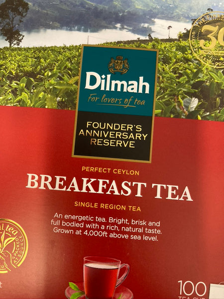 DILMAH Breakfast Tea 200g 100bags