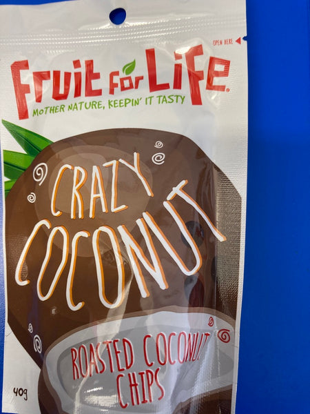 Crazy Coconut Roasted Chips 40g