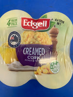 EDGELL Creamed Corn Multipack 4 x 125g