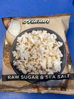 ARTISAN Gourmet Popcorn Raw Sugar and Sea Salt Flavour 30g