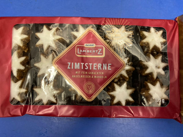 LAMBERTZ Zimtsterne Star Shaped Cinnamon Cookies175g