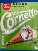 # STREETS VEGAN Made with Soy Cornetto 4p