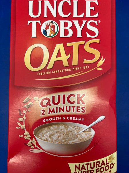 UNCLE TOBY'S Quick Oats 1kg