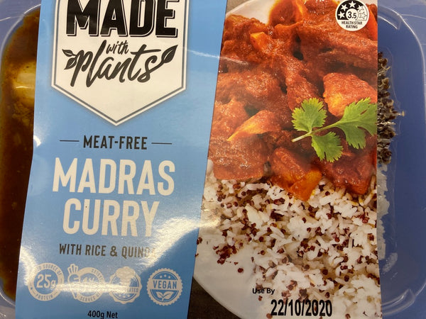 # Meat Free Madras Curry 400g