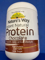 NATURES WAY Instant Natural Protein Powder in Chocolate 375g