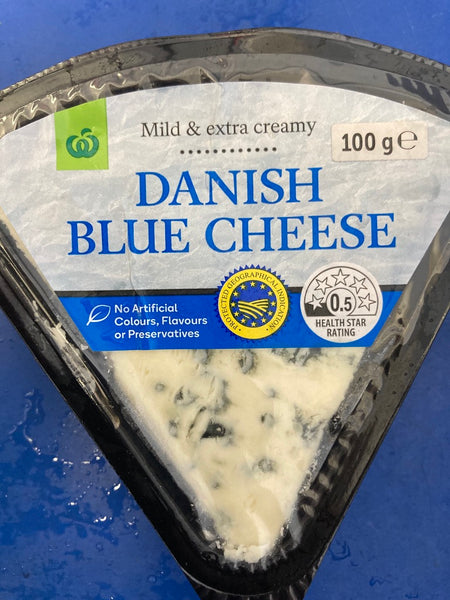 # WOOLWORTHS Danish Blue Cheese 100g