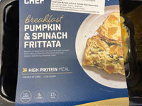 # MY MUSCLE CHEF Pumpkin & Spinach Frittata 250g